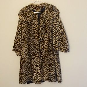 *Vintage* Leopard Coat by Peck & Peck Fifth Ave